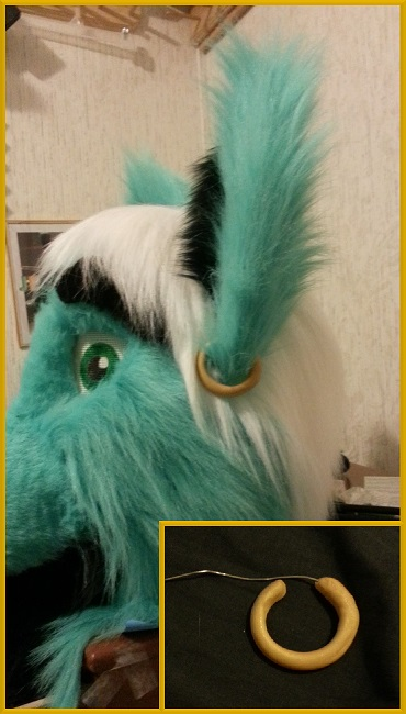 Fursuit Earring