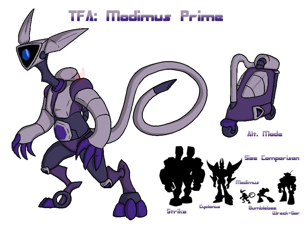 A TFA Modimus Prime