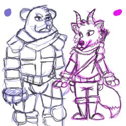 fox and bear adventure again