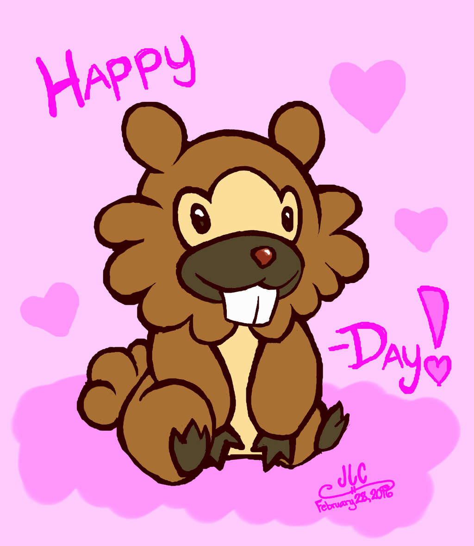 Happy Bidoof-day, Stuff!