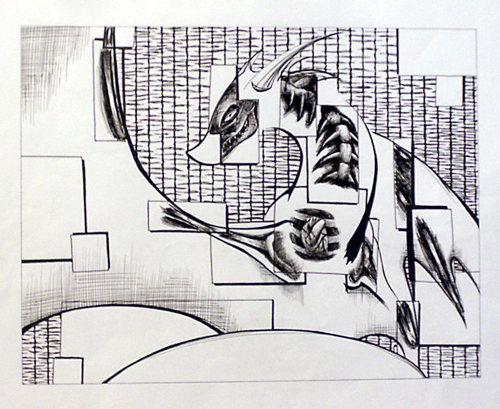 Cubistic Dragon