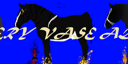 ~ Horse Vase Adopts for sale! $5 Each! ~