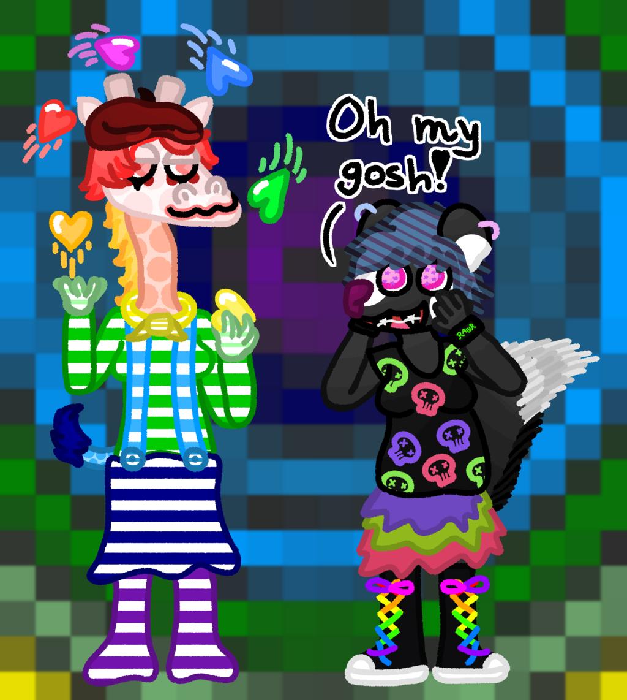 Rainbow Critter Gays