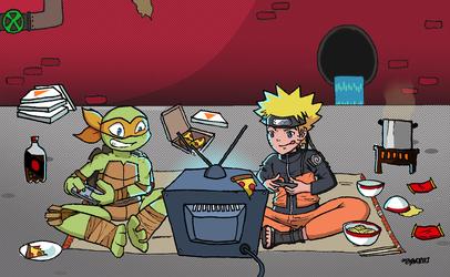 Mikey and Naruto