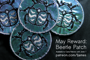 May Patreon reward: exclusive patches!