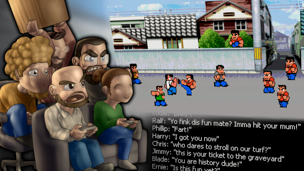 Rivercity Ransom- The Stick of Bonking is AWESOME