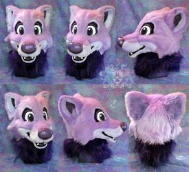 Thystle Wolf Fursuit Head