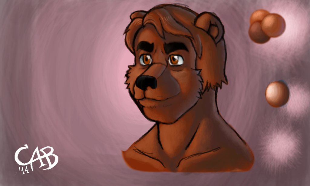 Shading practice and long faced bear