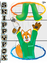 Conbadge Commission - SkippyFox