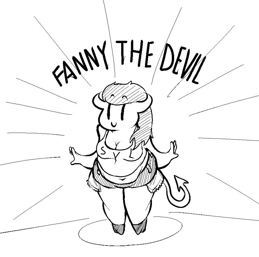 Most recent image: Fanny the devil