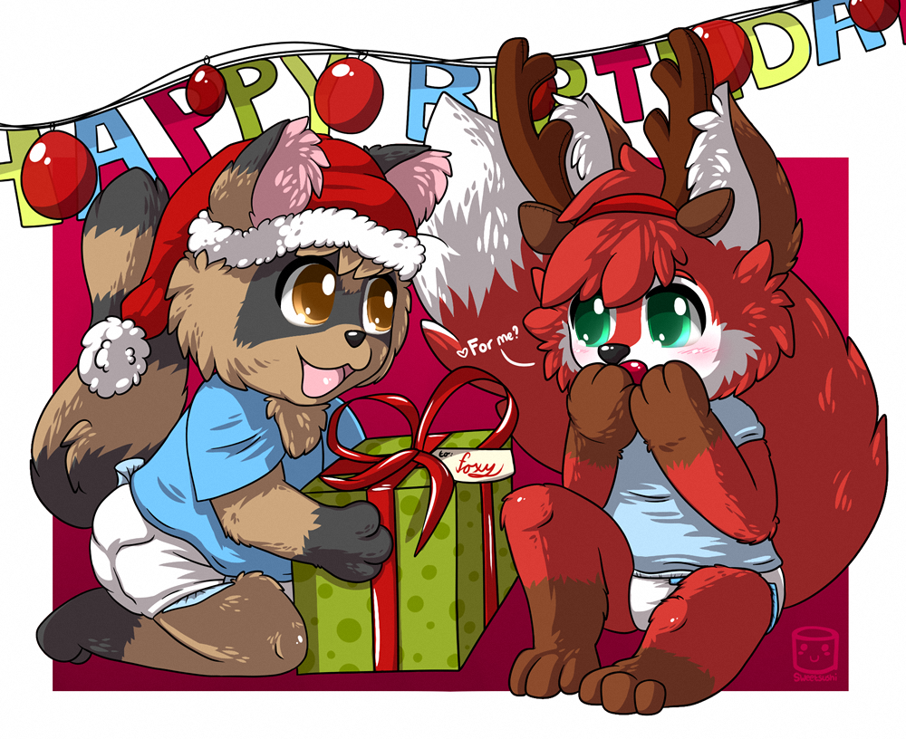 Happy Birthday Foxy (Art by Sweetsushi)