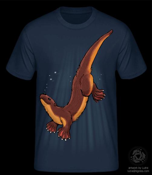 Life is an otter / Tshirt-Design