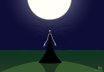 The Slenderwoman On The Hill