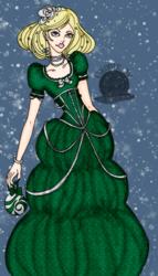Slytherin Holiday Girl