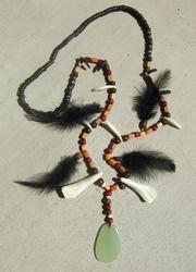 Tribal Necklace by Qzurr