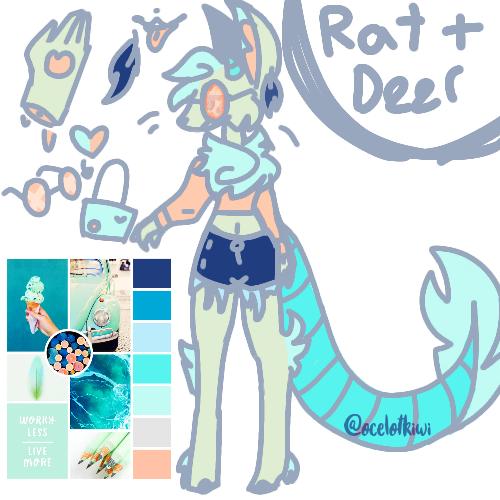★ Rat Deer adopt / oc for sale ★