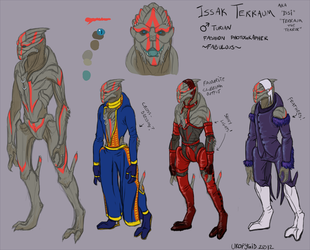 Issi character study