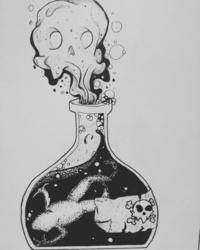 Poison : Inktober - Day 7