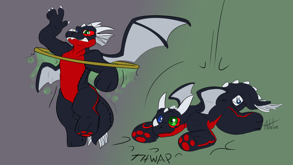 Comm - NightDragon0 - Plush Ring