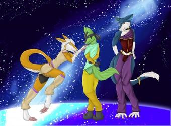 Galaxy  dancers