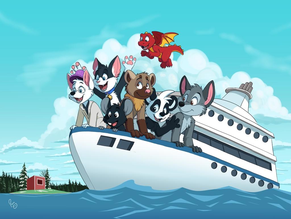 Fluffy cruise
