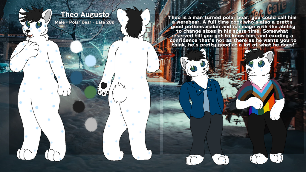 (Not Done by Me) Theo's Complete Ref Sheet