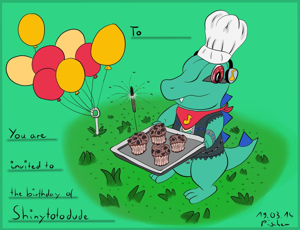 Shinytotodude Birthdaycard