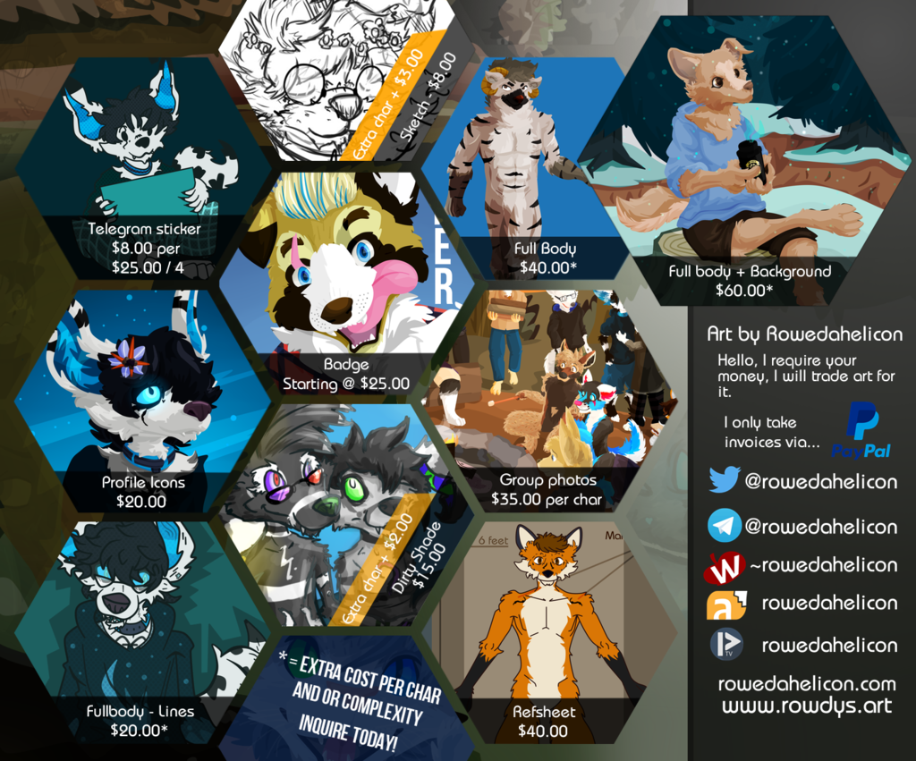 Featured image: Commissions open - 2019 edition