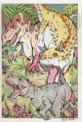 Bullying the Ceratosaurus ...