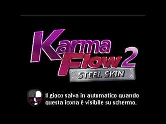 Karma Flow 2 - Steel Skin: Title Screen