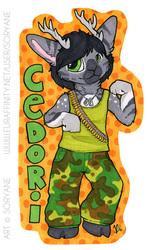 Cedori - Chibi Badge