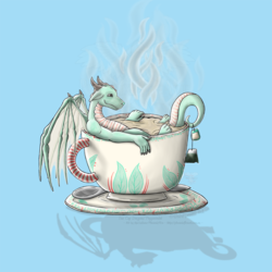 Tea Cup Dragons: Peppermint