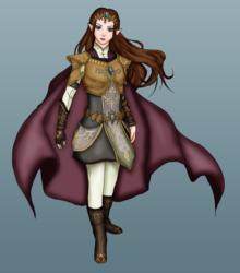 Warrior Queen Zelda