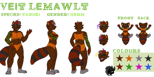 Veit Lemawlt Reference Sheet