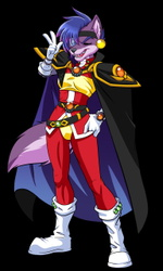 Cybe dresses as Lina Inverse!