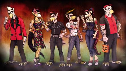 Avania Rockabilly Halloween - Remastered