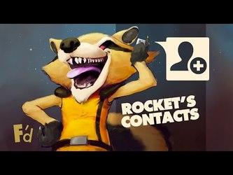 VIDEO: Rocket Raccoons Animal Contact List | Episode 48