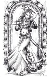 Diantha the temple dancer