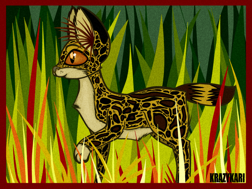 Savanna Serval