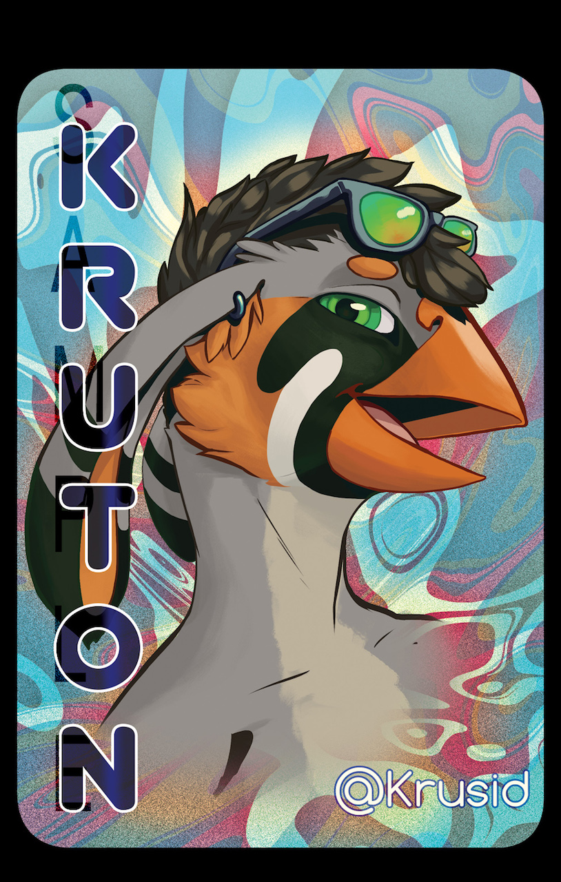 Kruton badge
