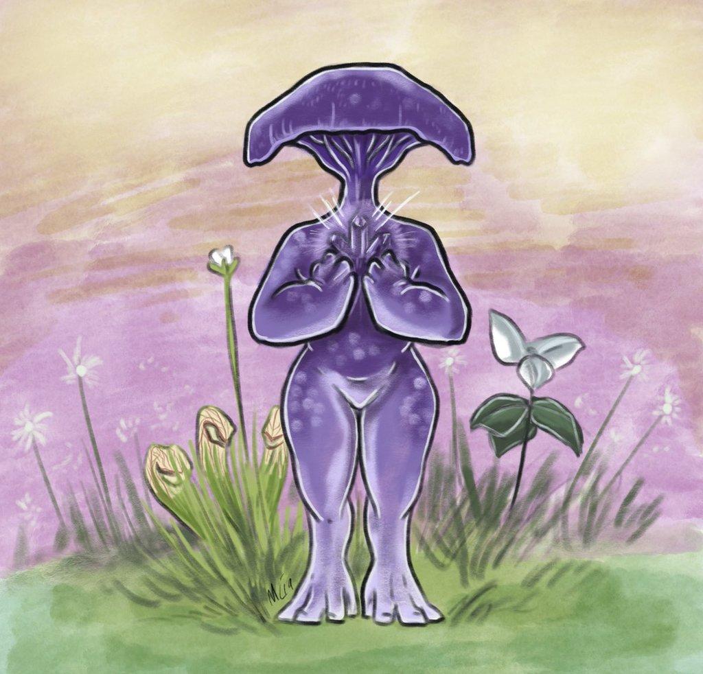 Mayshroom amethyst deceiver