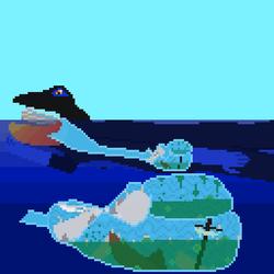 """""""An Insatiable Cetacean"""" (vore)"""