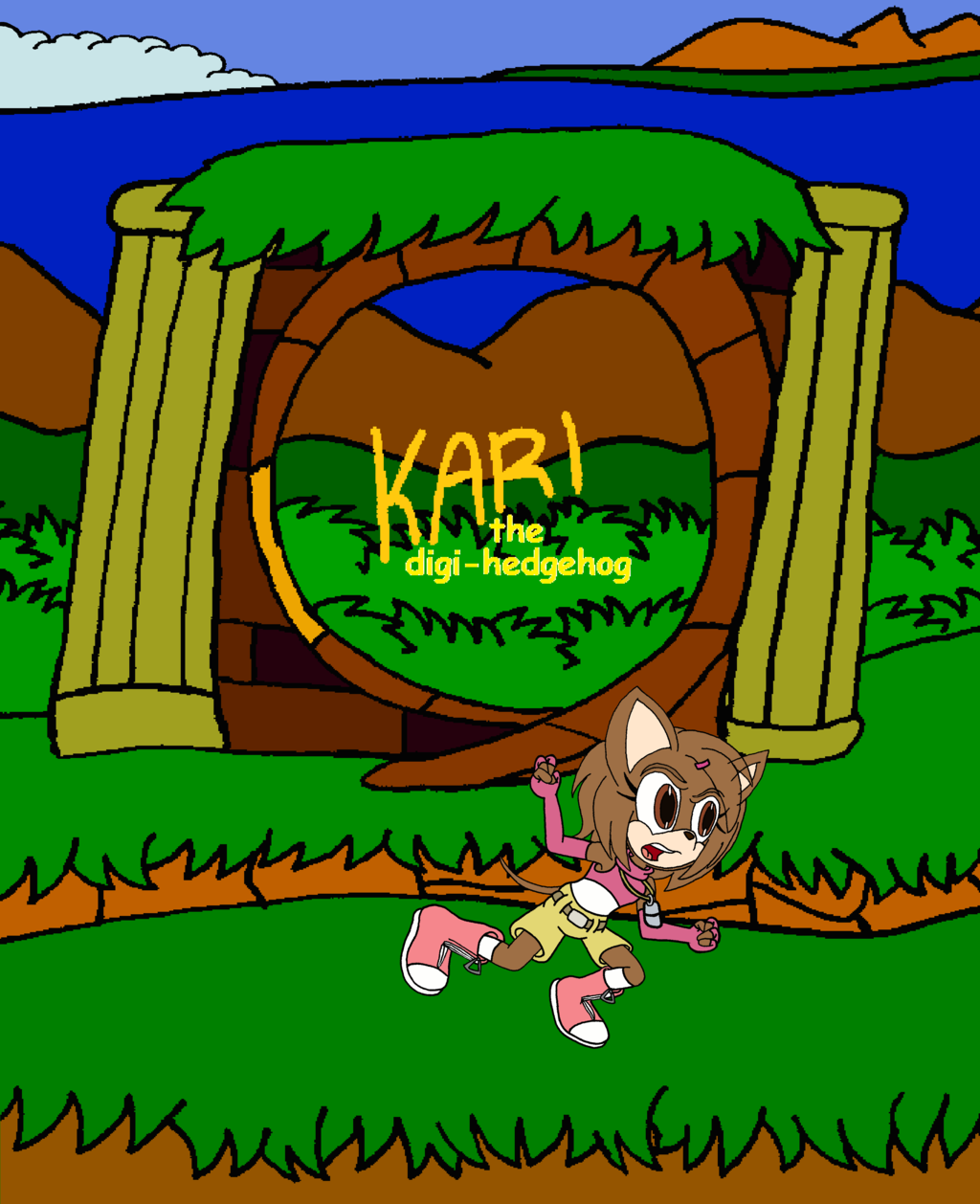 Kari the Digi-hedgehog
