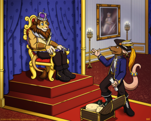 Trade Negotiations 01 - The Throne Room