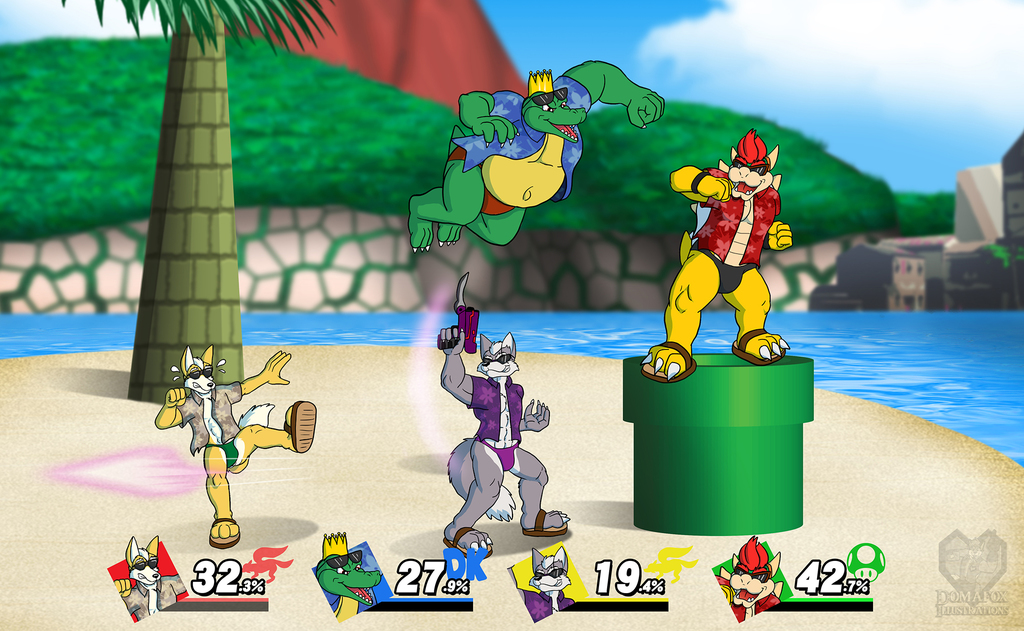 Smash Bros - Beach Edition