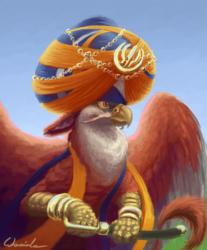 Sikh gryphon