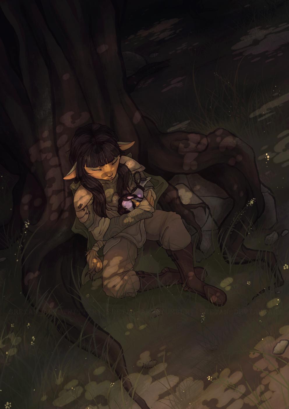 Resting Rian