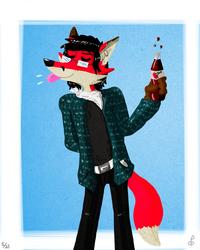 Cherry Red Fox Drinks Cherry Soda