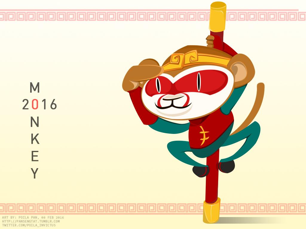 Lunar New Year 2016 - Monkey
