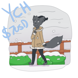 [OPEN] $7 USD YCH - Winter Walk